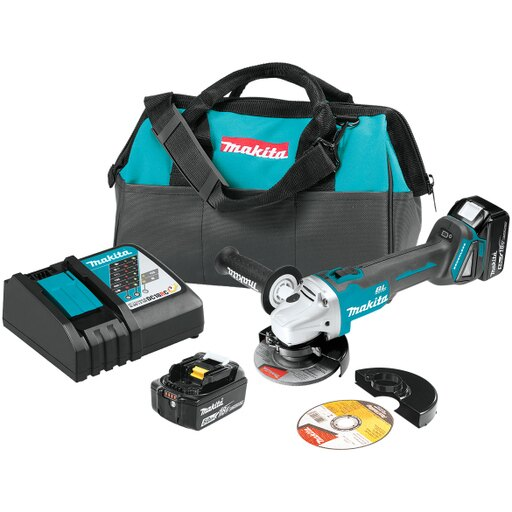 """18V LXT+ Lithium-Ion Brushless Cordless 4-1/2"""" / 5"""" Cut-Off/Angle Grinder Kit (5.0Ah)"""