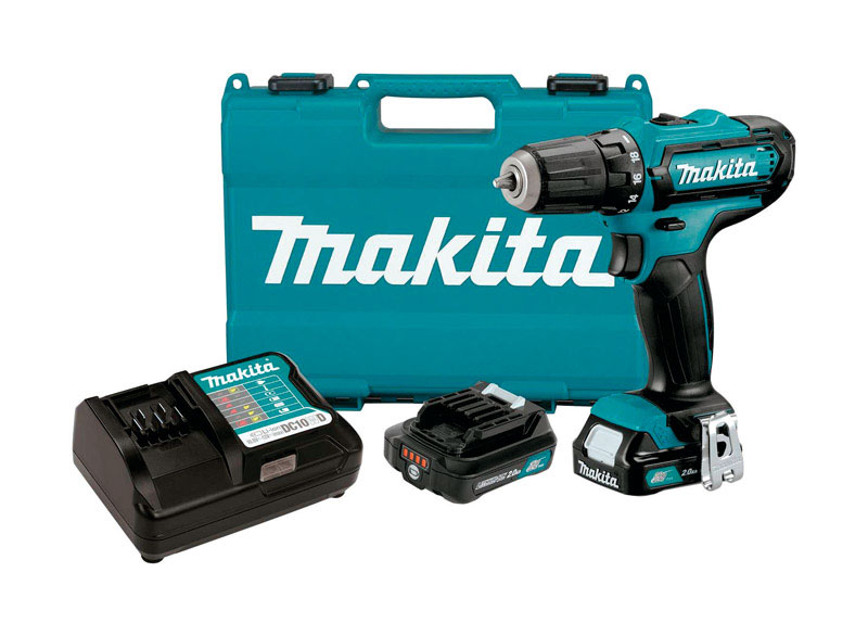 """12v Lithium-Ion 1/4"""" Hex 2-Speed Driver-Drill kit"""