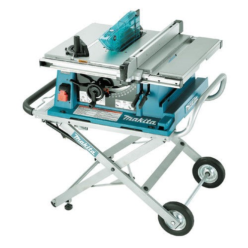 """10"""" Contractor Table Saw with Stand"""
