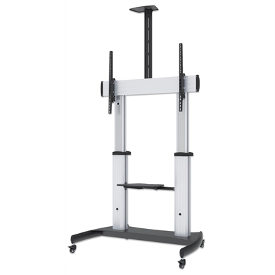 Heavy Duty Multimedia TV Cart