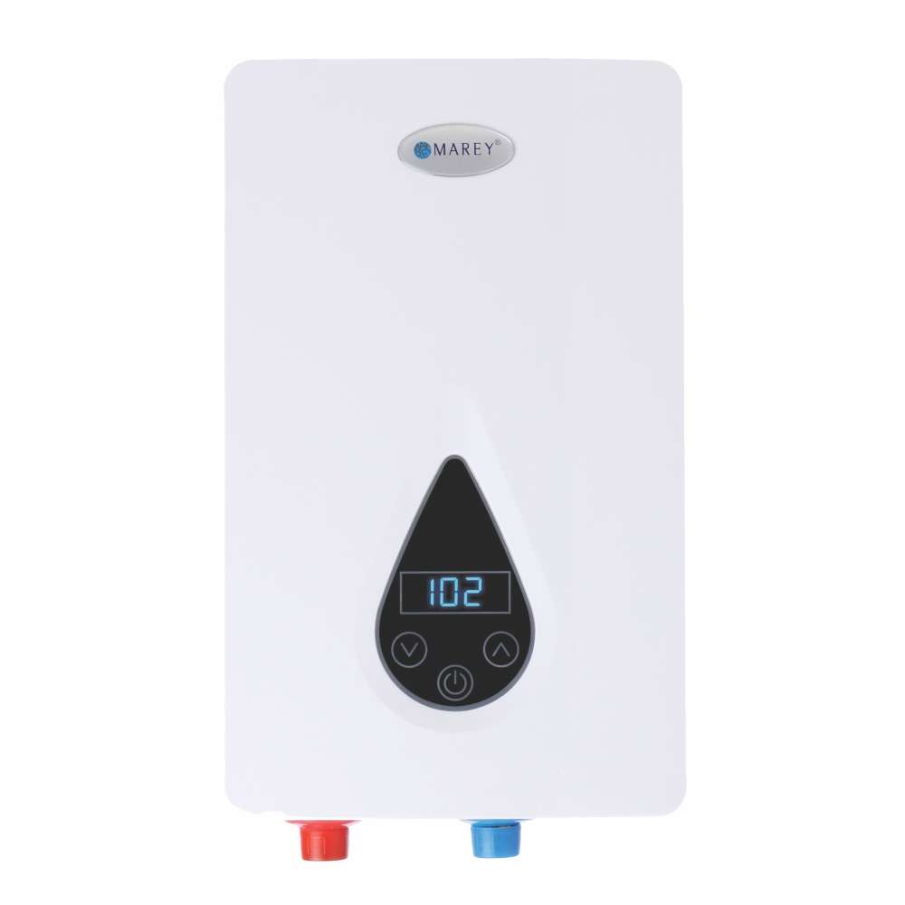 Marey ECO150 - 220Volt Self-Modulating 14.6 kW 3.5 GPM Multiple Points of Use Tankless Electric Water Heater