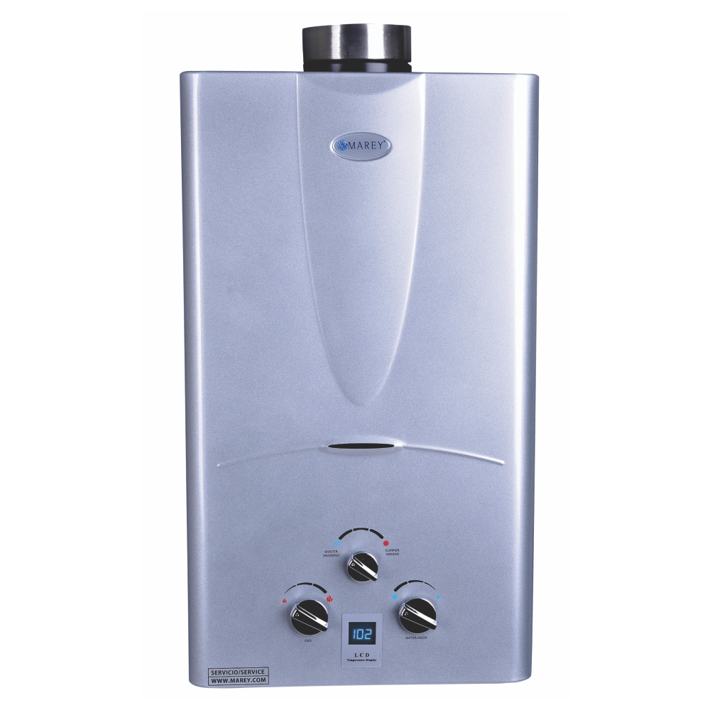 Marey 3.1 GPM Natural Gas Digital Panel Tankless Water Heater