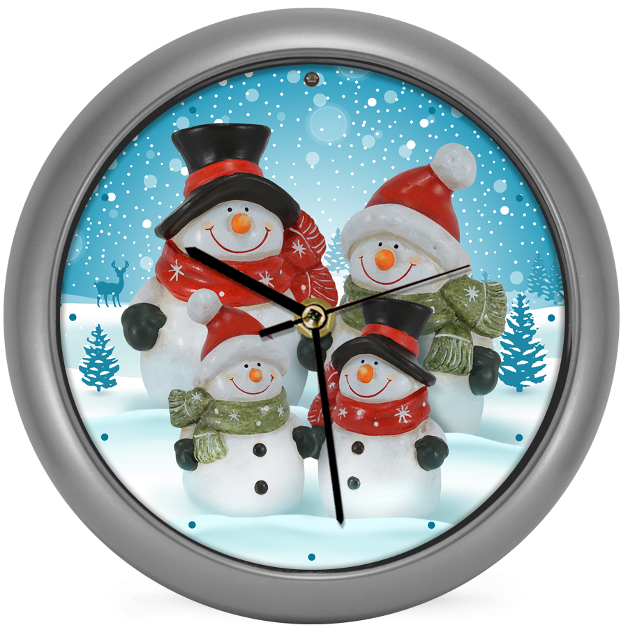 Snow Family Generation II Clock