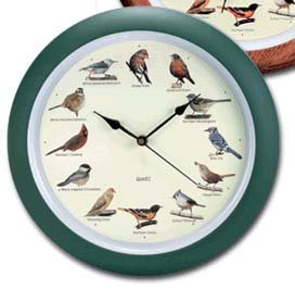 Original 13 inch Singing Bird Clock Anniversary Edition