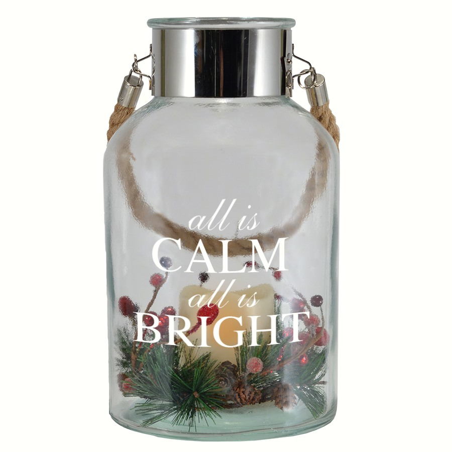 All is Calm, All is Bright Expression Canister