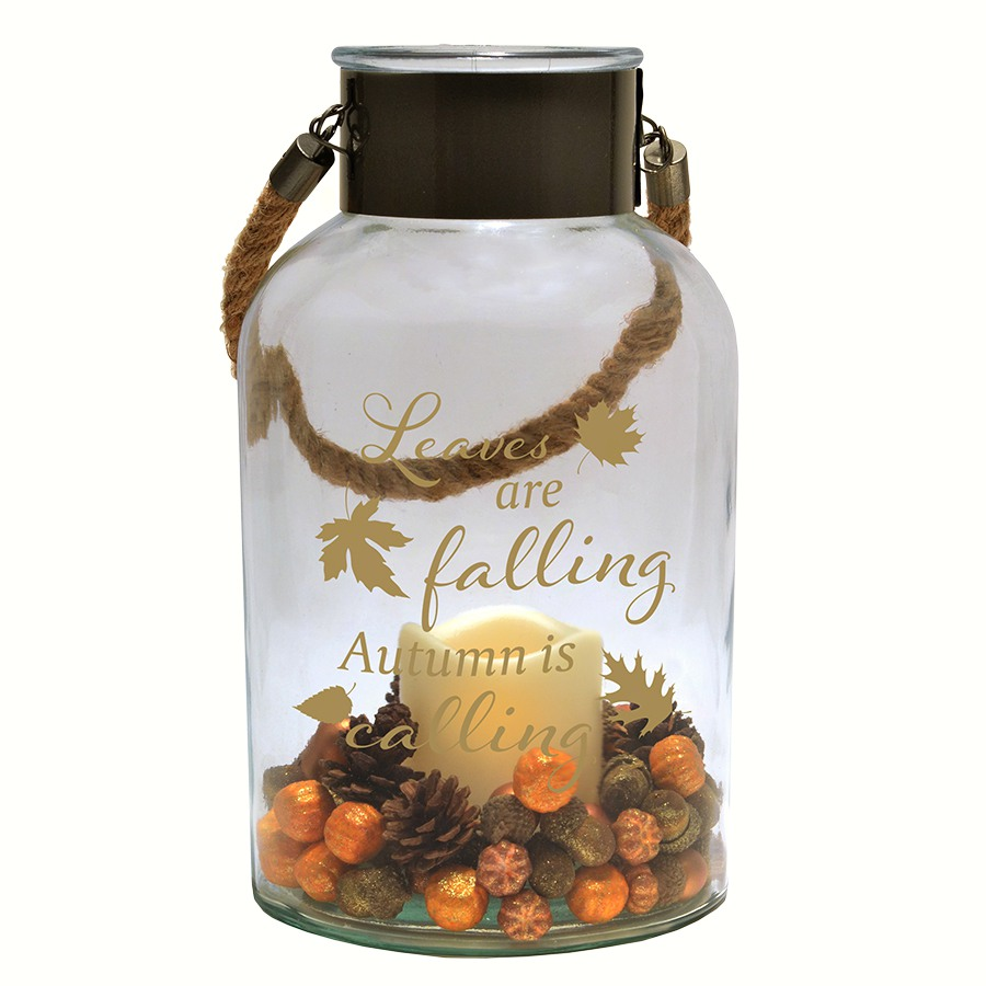 Harvest Glass Canister