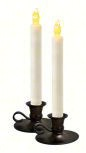 LED Taper Candle Set of 2
