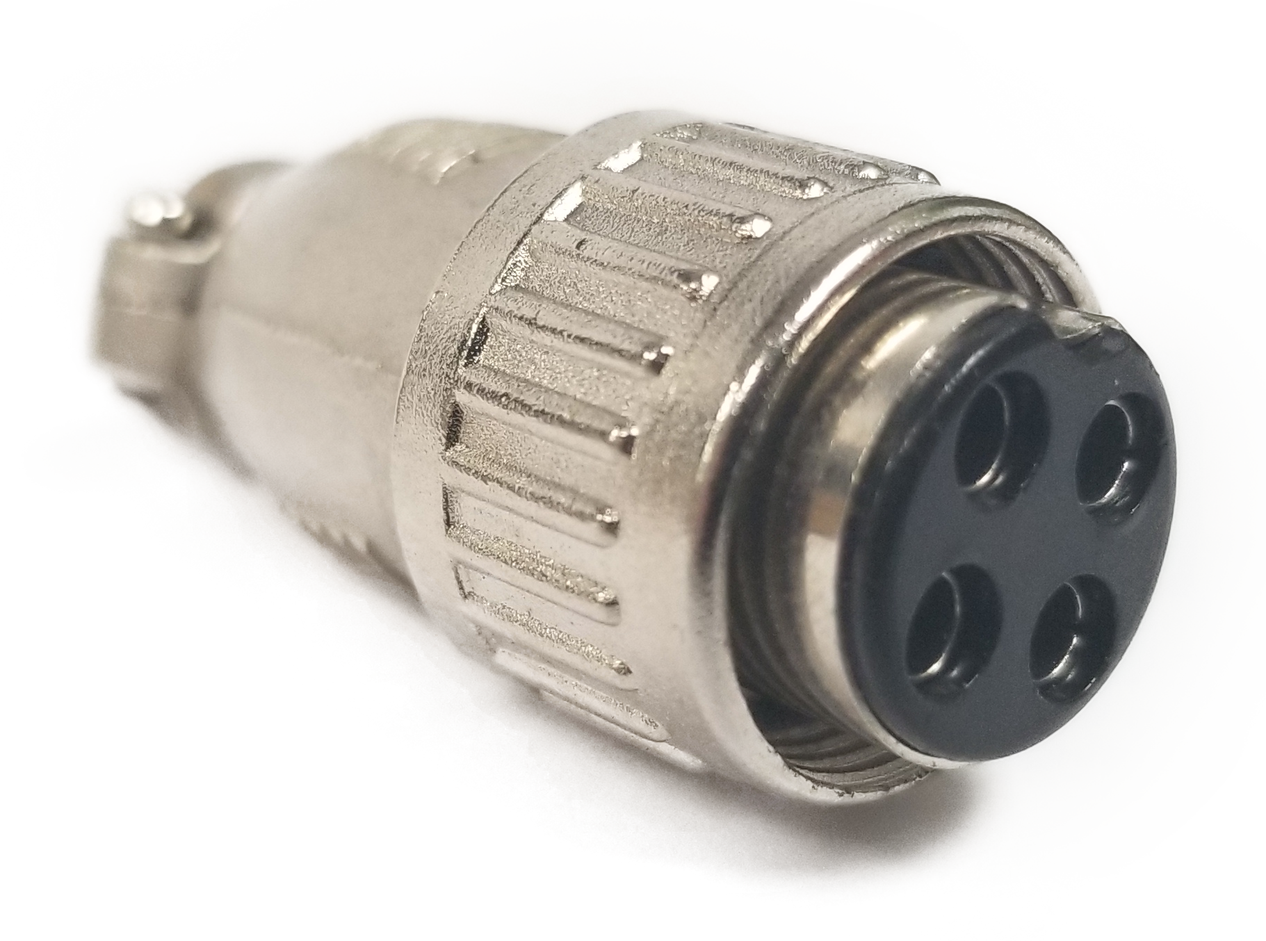 4 PIN DIE CAST MIC CONNECTOR