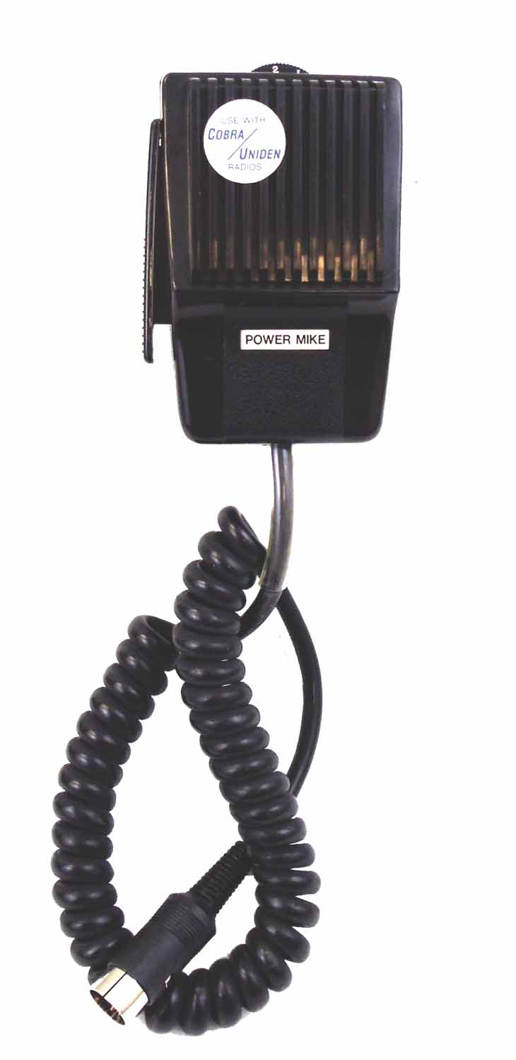 5 PIN DIN POWER MIC (COBRA/UNIDE) BULK