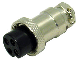 3 PIN FEMALE MIC CONNECTOR