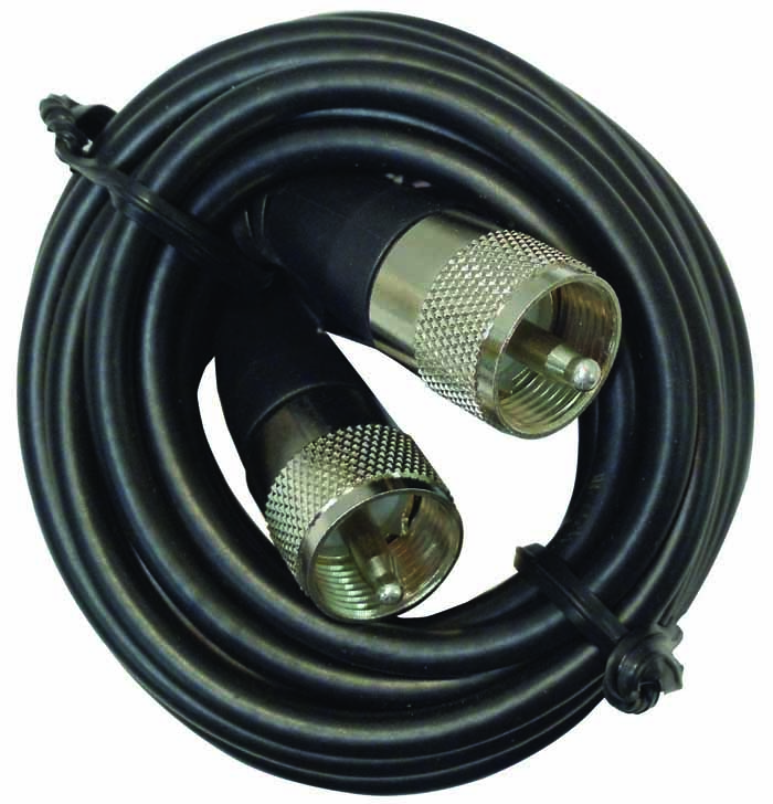 12' COAX W/PL259 CONNECTORS (BULK)