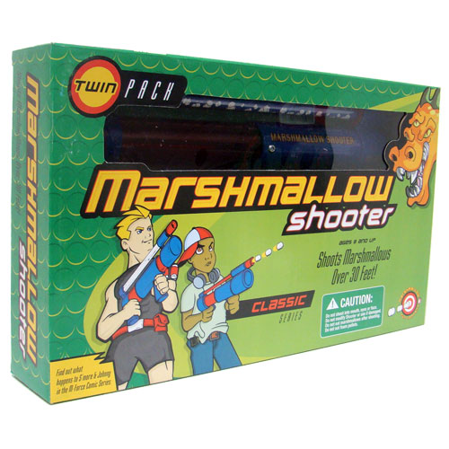 Twin Marshmallow Shooter