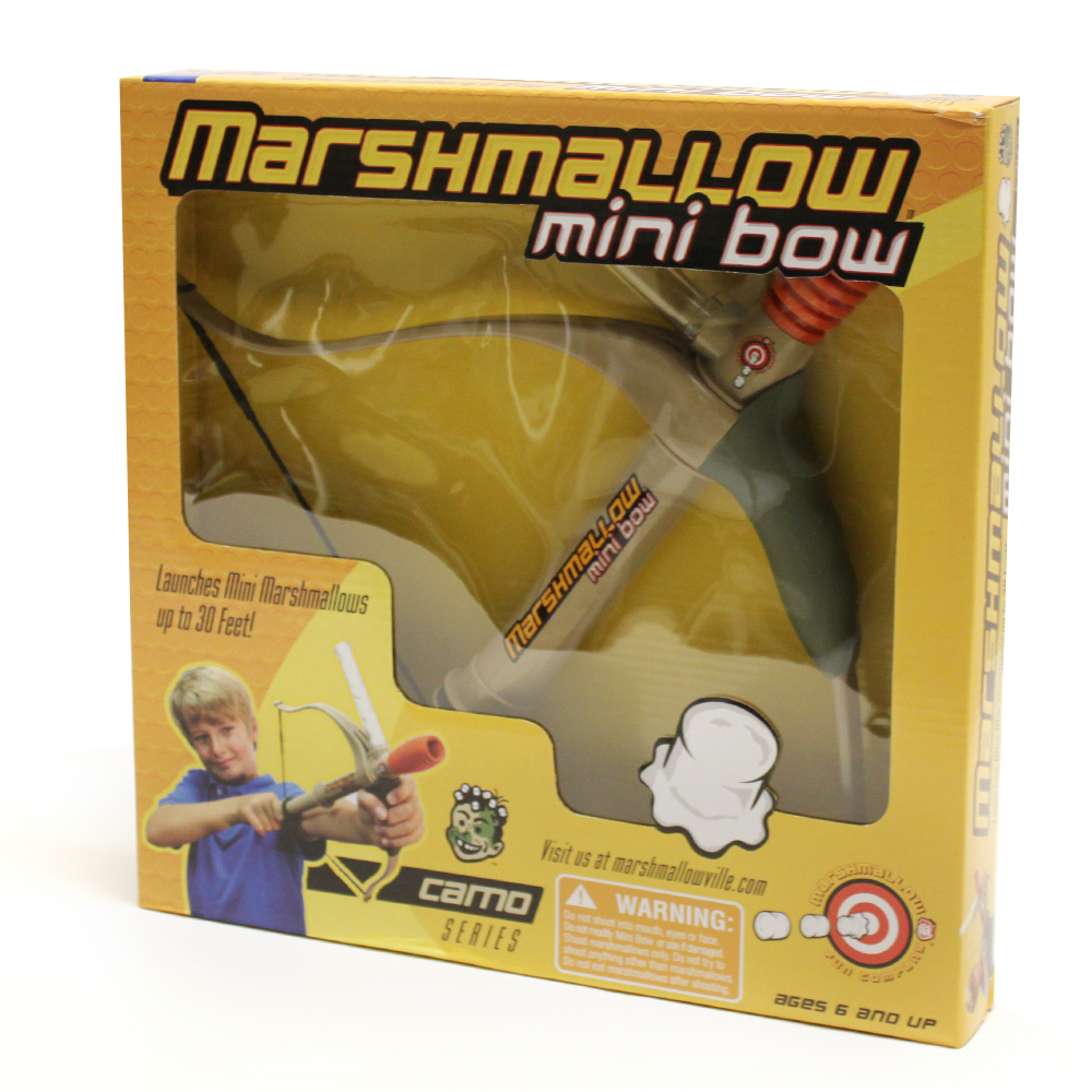 Marshmallow Mini Bow Camo Series