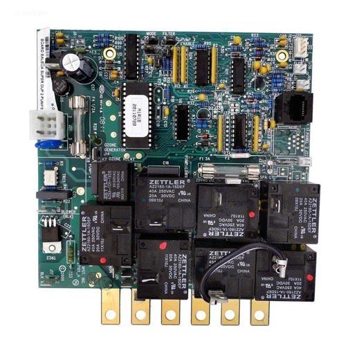 Circuit Board, Master Spa (Balboa) MAS225, Super Duplex, 2 Pump, Blower & 24HR Circ Pump