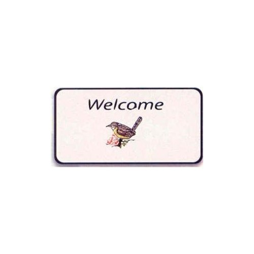 Carolina Wren Welcome Mat