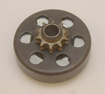 "Max-Torque Go-Kart Parts Clutch 3/4"" Hole #41 Chain  has 10 teeth  used on Mini-Bike  Go-Cart"