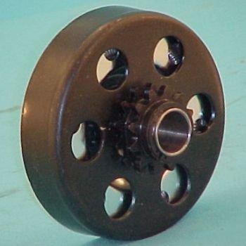 "Max-Torque Go-Kart Parts Clutch 3/4"" Hole #35 Chain for Mini-Bike  Go-Cart  12 teeth"