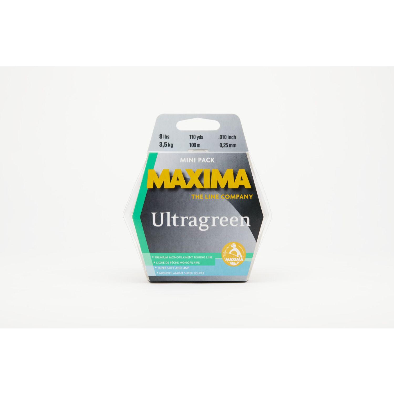 Maxima Ultragreen Mini Pack 8lb 110yds