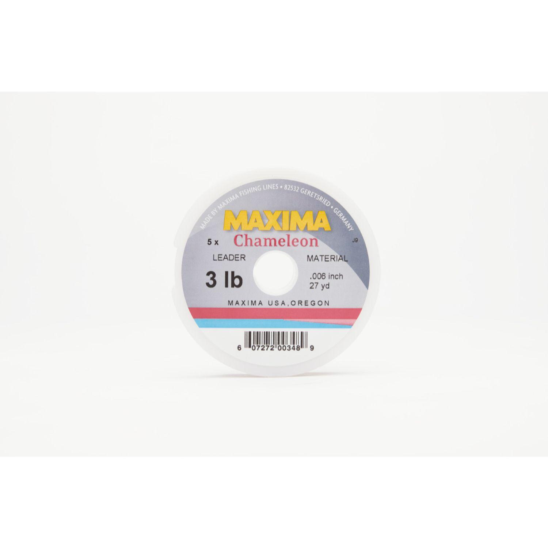 Maxima Chameleon Leader Wheel 3lb 27yds