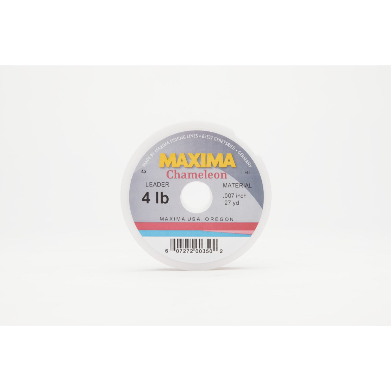 Maxima Chameleon Leader Wheel 4lb 27yds