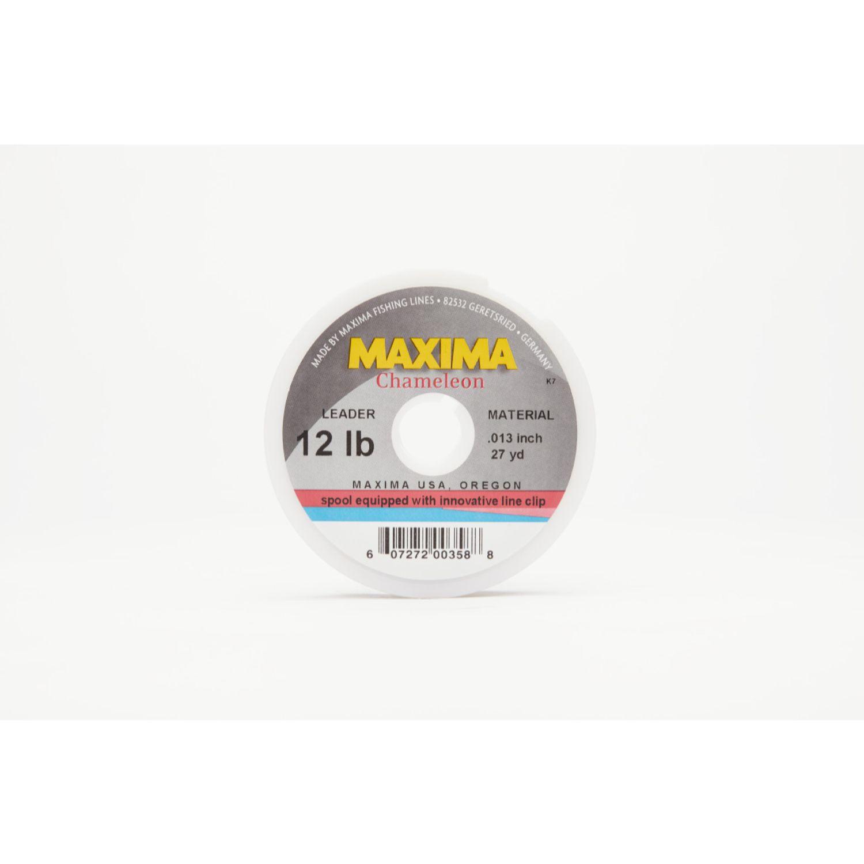 Maxima Chameleon Leader Wheel 12lb 27yds