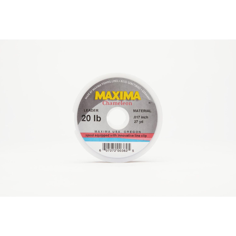 Maxima Chameleon Leader Wheel 20lb 27yds