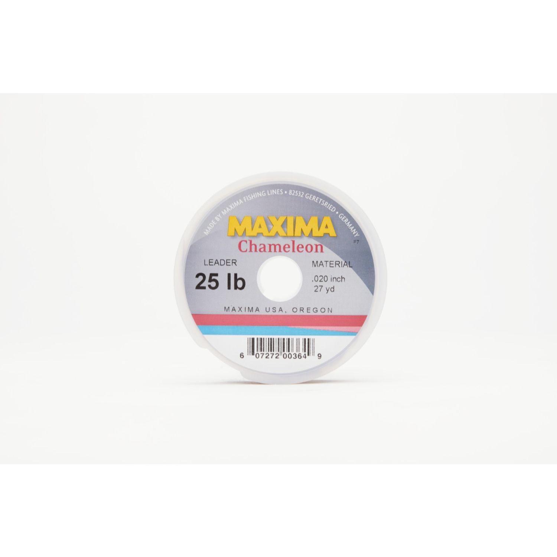 Maxima Chameleon Leader Wheel 25lb 27yds