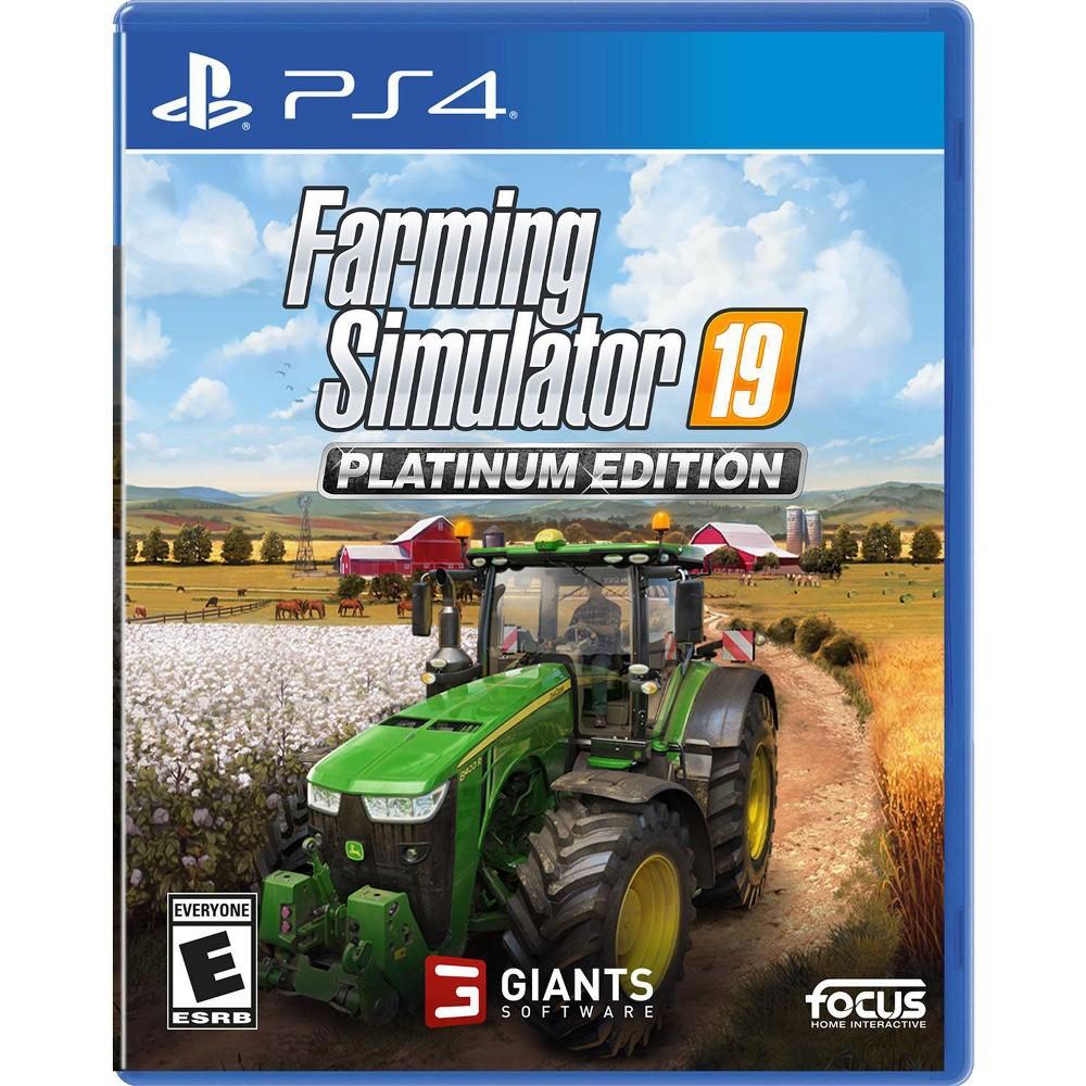 FarmingSimulator19 Plat Ed PS4