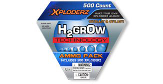 Xploderz 500 Count Ammo Refill Pack