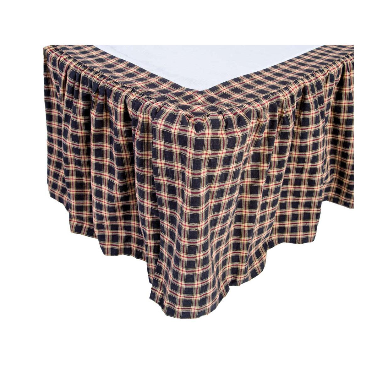 Bingham Star King Bed Skirt