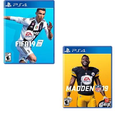 FIFA19 Madden19 Bun US PS4