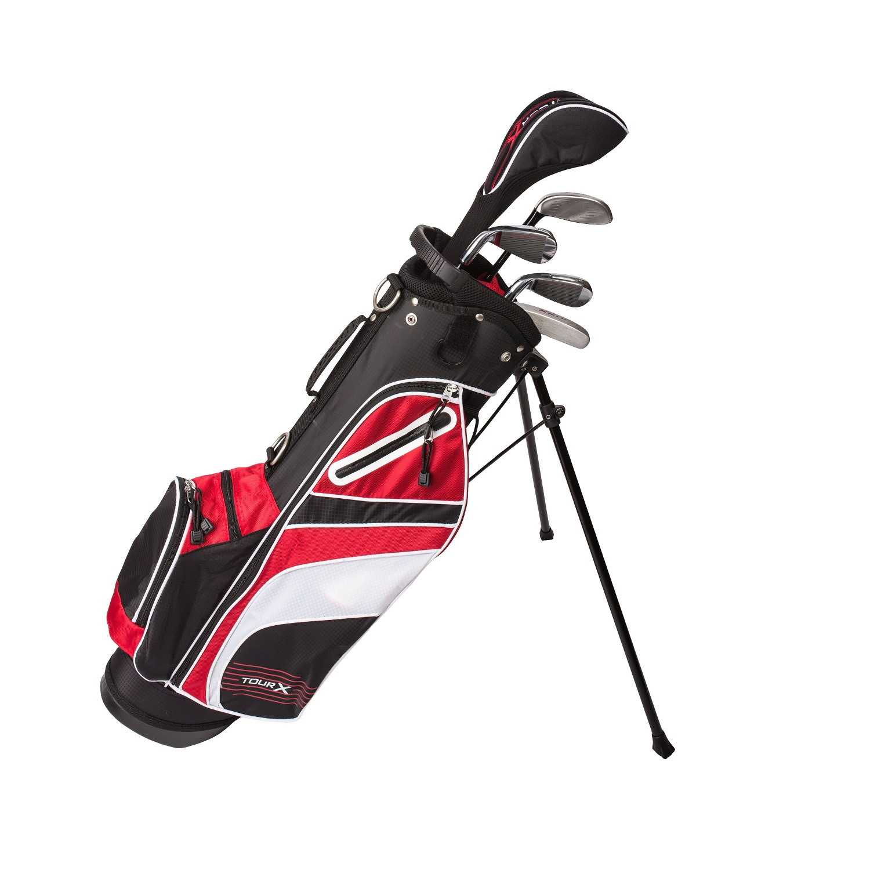 Tour X Size 2 5pc Jr Golf Set w/Stand Bag