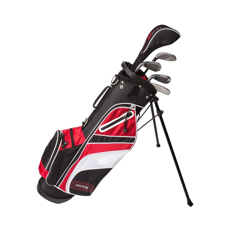 Tour X Size 2 5pc Jr Golf Set w/Stand Bag LH