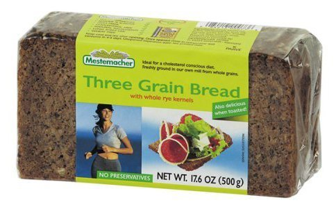 Bread - Three Grain ( 12 - 17.6 OZ )