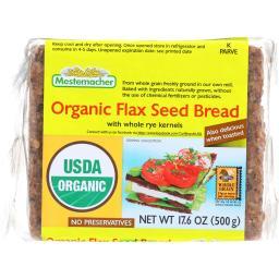Bread - Organic - Flax Seed ( 12 - 17.6 OZ )