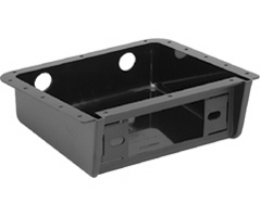 UNIVERSAL UNDERDASH CAR STEREO HOUSING