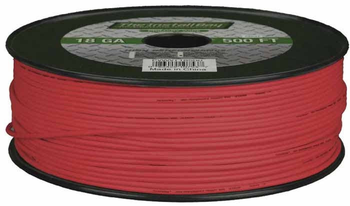 16 GAUGE PRIMARY WIRE 500'ROLL RED