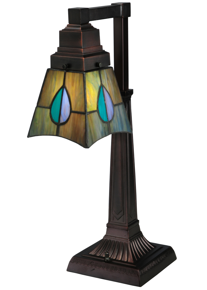 "19.5""H Mackintosh Leaf Desk Lamp"