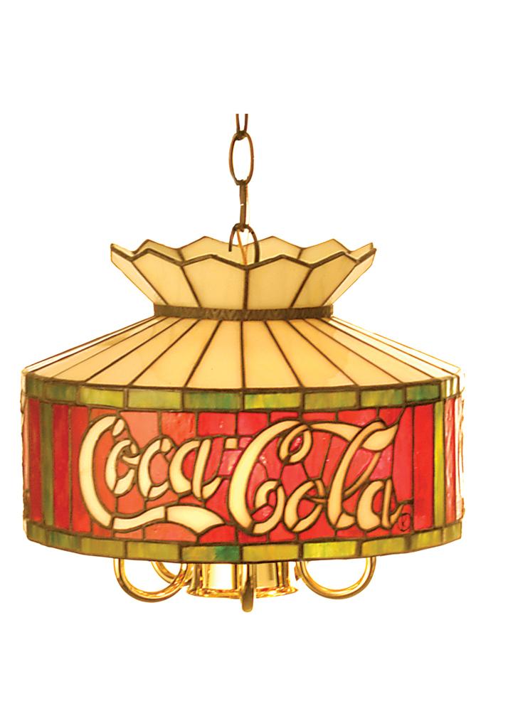 """12""""W Coca-Cola Pendant"""