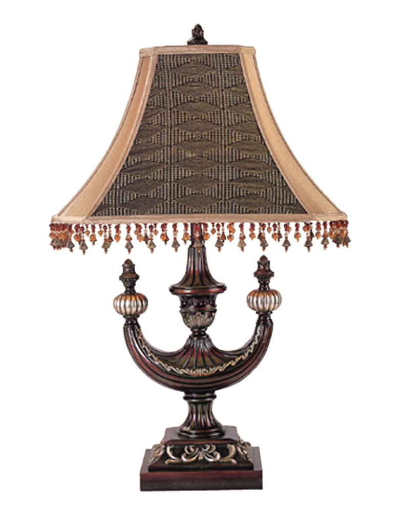 "29""H Alhambra Oblong Desk Lamp"