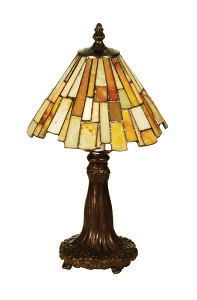 "13""H Jadestone Delta Mini Lamp-69762"