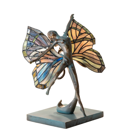 """14"""" High Butterfly Lady Accent Lamp"""