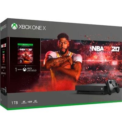 XBOX ONE X NBA2K20 Bundle 1TB