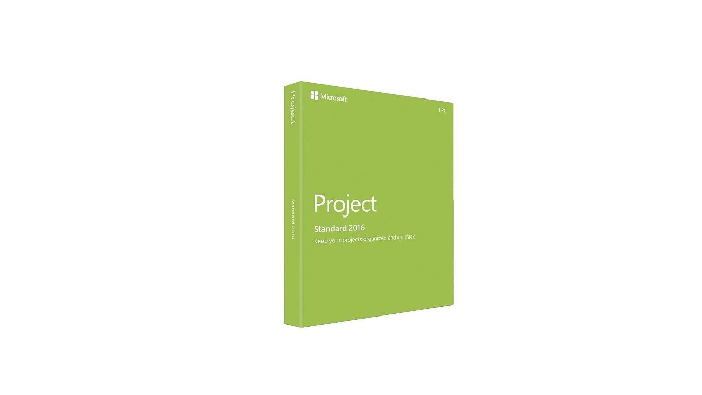 Microsoft Project Standard 2016 1pc Z9V-00347