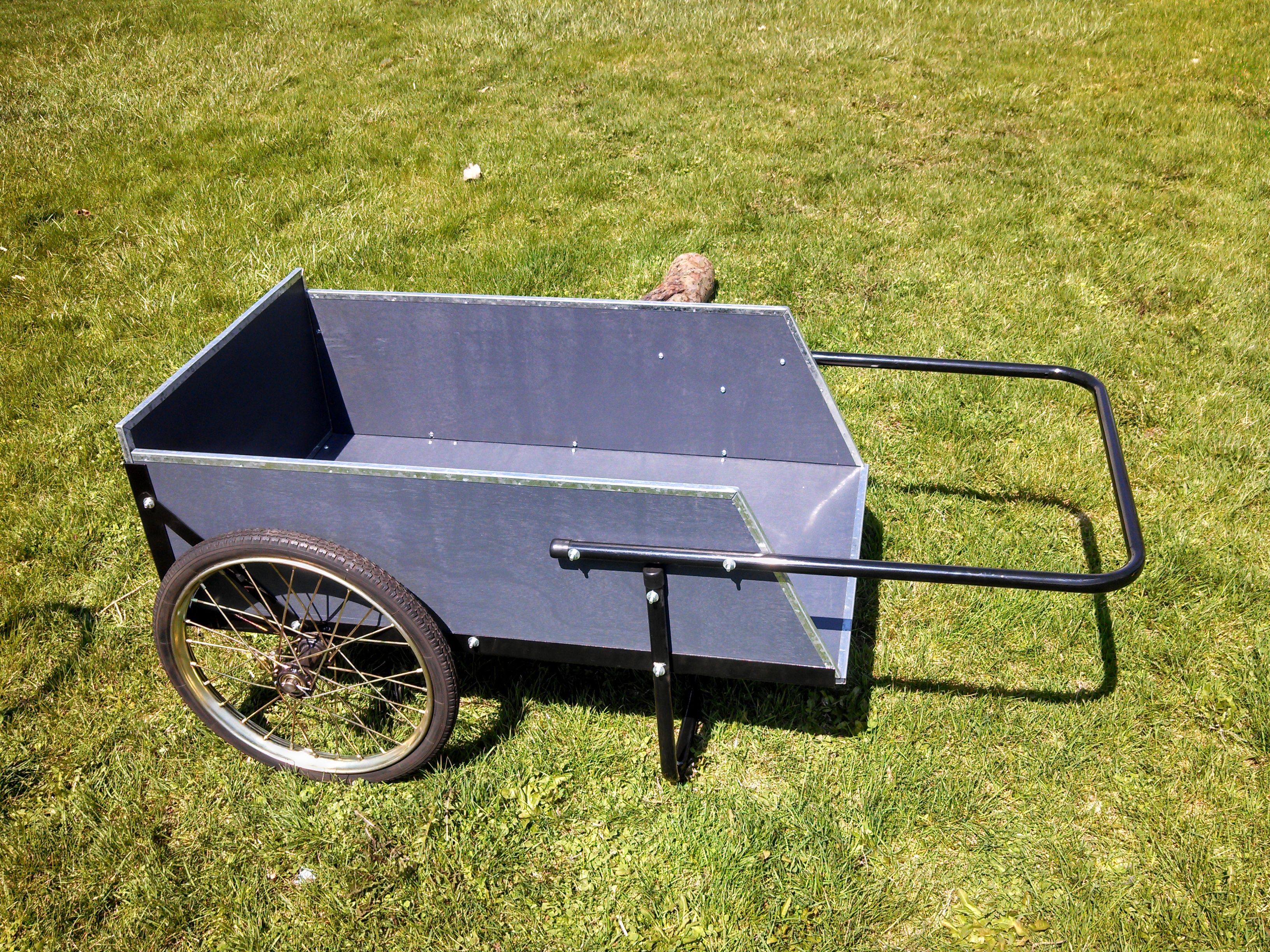 STANDARD-DUTY WOODEN UTILITY CART