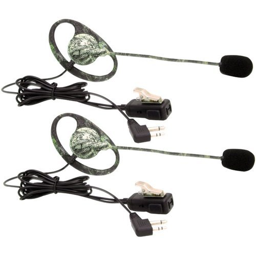 CAMO HEADSET W/BOOM MIC AND PTT