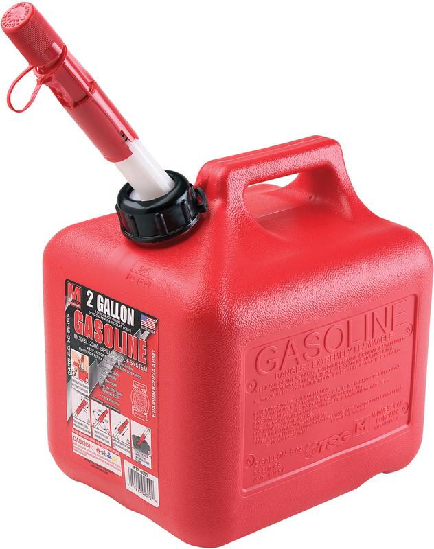 2+ GALLON GAS CAN