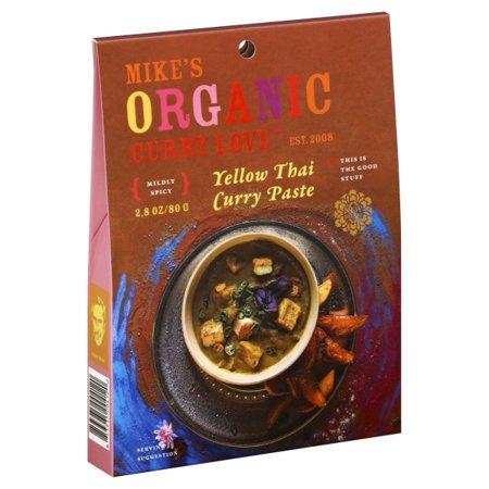 Curry Yellow Thai Paste ( 6 - 2.8 OZ )