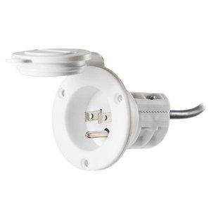 Minn Kota MKR-23 AC Power Port (White)