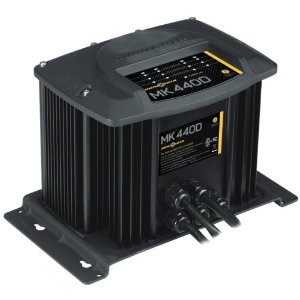 Minn Kota MK-440D Digital Linear Charger 4 Bank 10 Amp